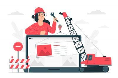 Изработка на строителен уеб сат от Techsware